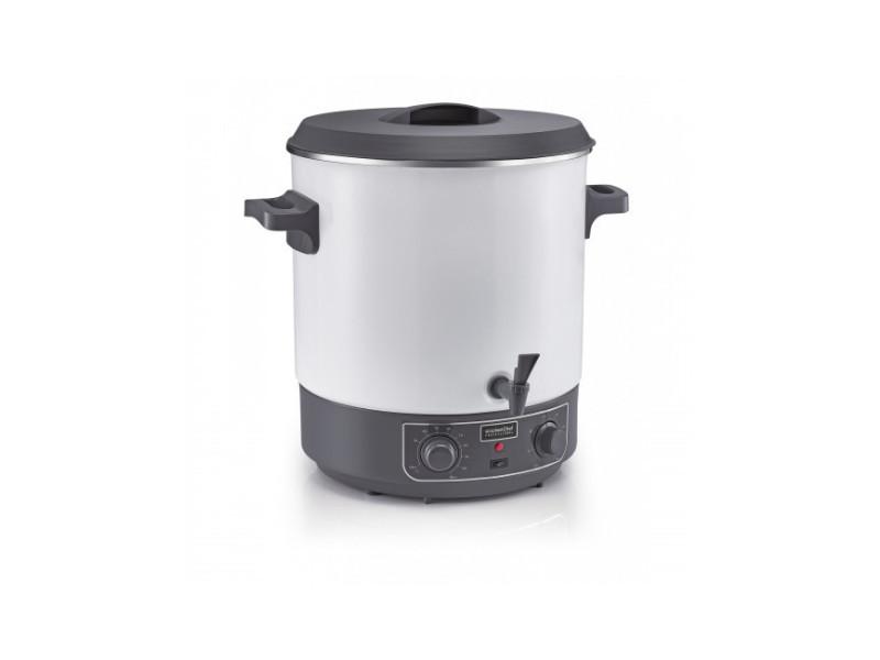 Kitchen chef stérilisateur 28 litres 1800w cuve émaillée ql-270qie