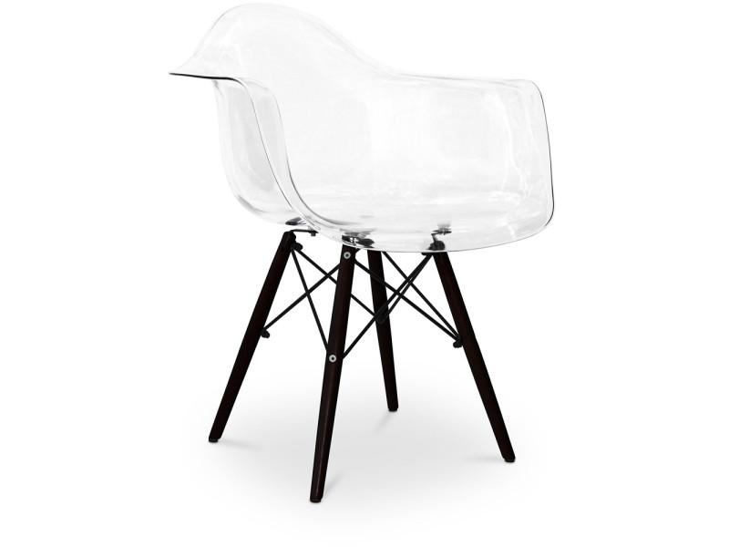 Chaise Daw Pitement Fonc Charles Eames Transparent