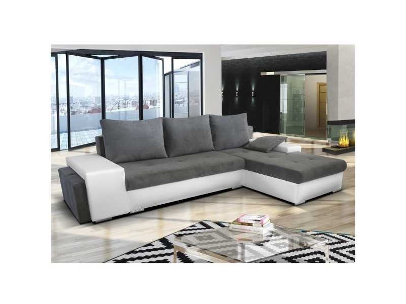 canap dangle convertible 2 poufs stella vente de canap dangle conforama - Canape Meridienne Convertible 2
