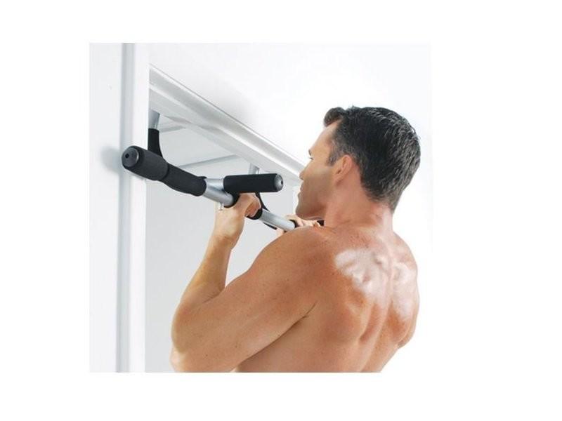Barre d'exercice multifonction iron gym exercices à la maison