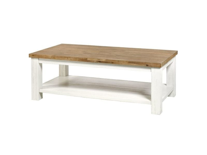 Dresde - table basse rectangulaire acacia massif