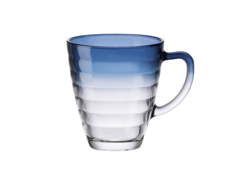 Mug circles bleu 31 cl. (lot de 6)