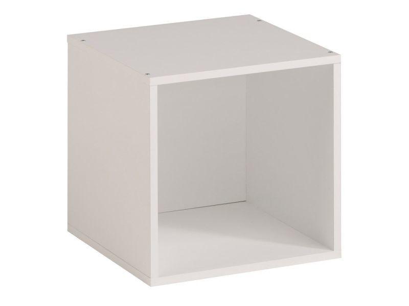 1 Case étagère Moderne En Cube Coloris Blanc P 17848 Co C Mockova