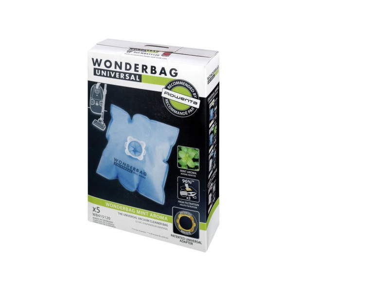 Wpro wb415-mw sac pour aspirateur : universel