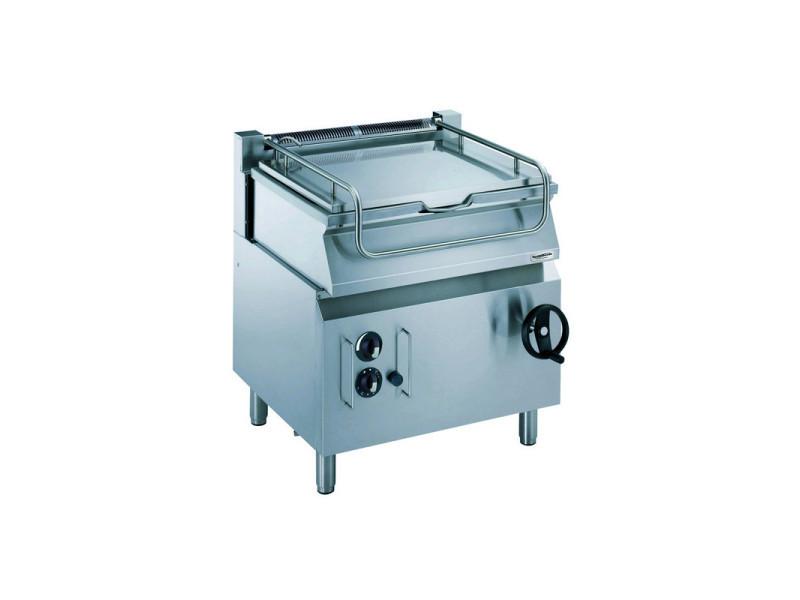 Sauteuse basculante à gaz pro 700 levage manuel - 60 l - combisteel - 6000 cl