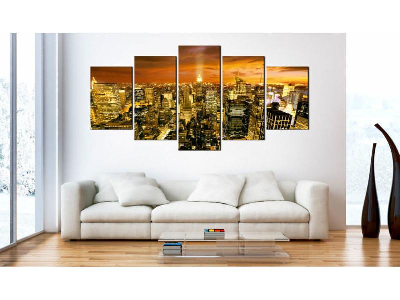 200x100 tableau new york villes joli new york: amber
