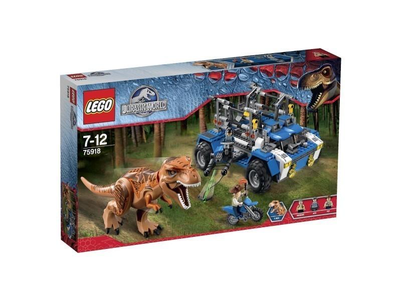 Jurassic Poursuite Lego T World Rex Vente Du 75918 De La Ybf6g7y