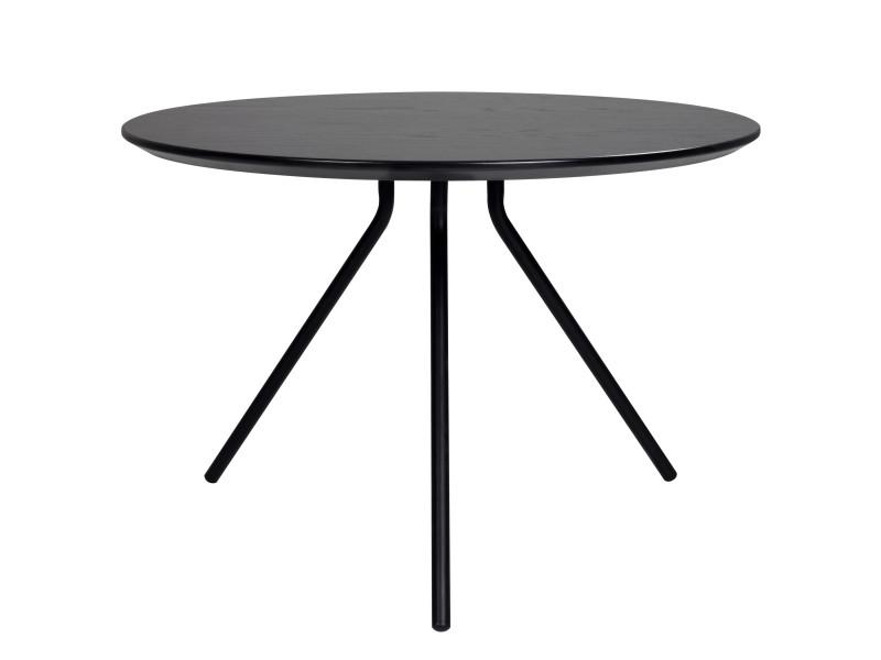 Table basse ronde noire major