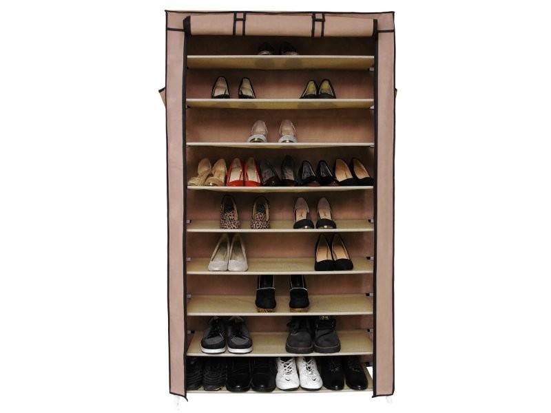 armoires penderie tissu meuble de rangement chaussure. Black Bedroom Furniture Sets. Home Design Ideas