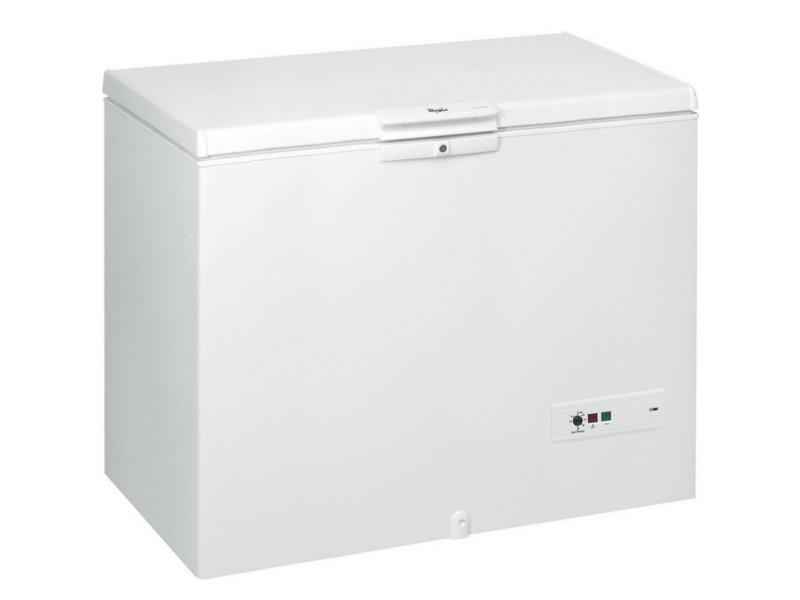Congélateur coffre 141cm 432l a+ blanc - whm46112 whm46112
