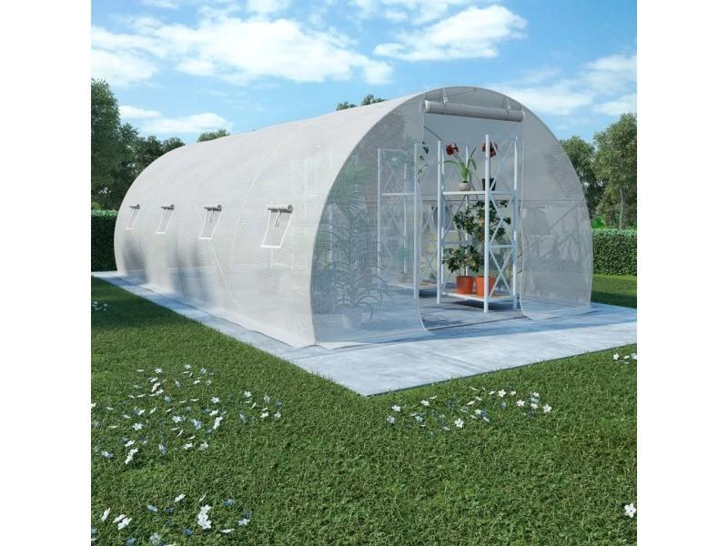 Sublime jardinage gamme brazzaville serre 18 m² 600x300x200 cm