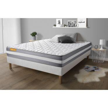 matelas m moire de forme 140x190 green 3 zones de confort vente de sept nuit conforama. Black Bedroom Furniture Sets. Home Design Ideas