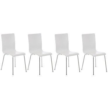 Joli lot de 4 chaises de conférence siège visiteur lomé