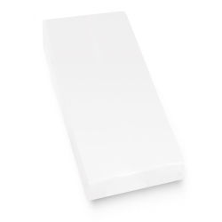 Protège matelas imperméable 80x190 cm arnaud - molleton contrecollé polyuréthane, micro-respirant