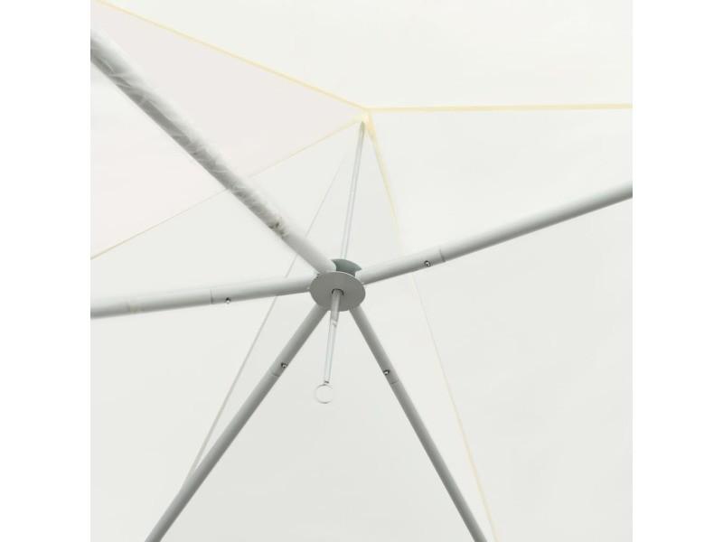 Icaverne - auvents et abris gamme chapiteau d'extérieur crème 600 x 440 x 330 cm