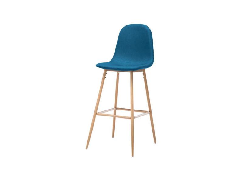 Bar Bleu De Style Métal Scandinave Tissu En Tabouret Harri L wX8knPZ0ON