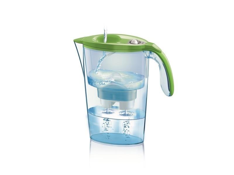 Stream line mecanique - carafe filtrante - vert