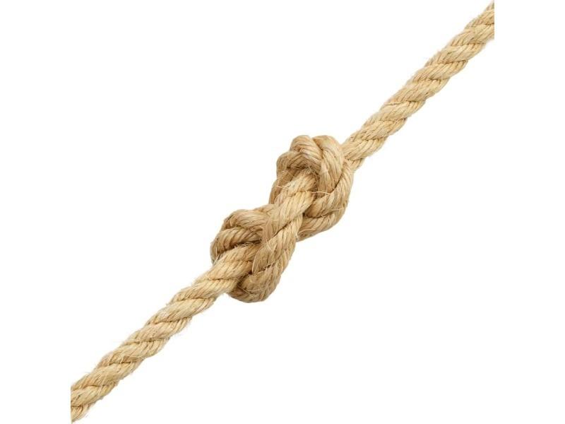 Icaverne - cordes et câbles de construction edition corde 100 % en sisal 12 mm 250 m