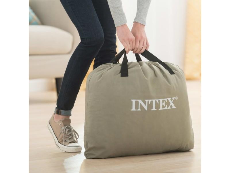 Intex matelas gonflable dura-beam plus pillow rest raised reine 42 cm 92047