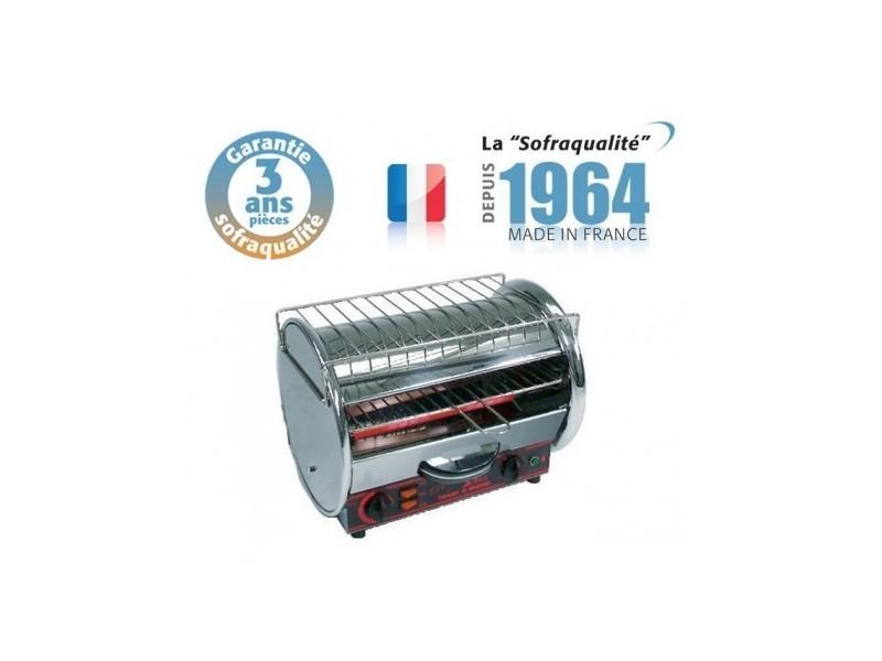 Toaster professionnel multifonction avec régulateur - 350 x 235 mm - 230 v - 1 etage - classic - sofraca -