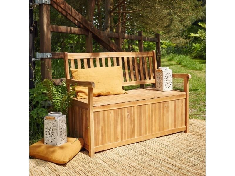 grand choix de b6642 6daa7 Banc de jardin coffre en bois d'acacia fsc - Vente de Chaise ...