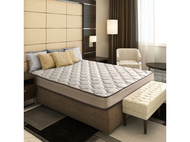 olympe ensemble matelas lit hesiode 140x200 sommier. Black Bedroom Furniture Sets. Home Design Ideas