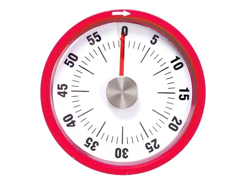 Minuteur de cuisine magnétique