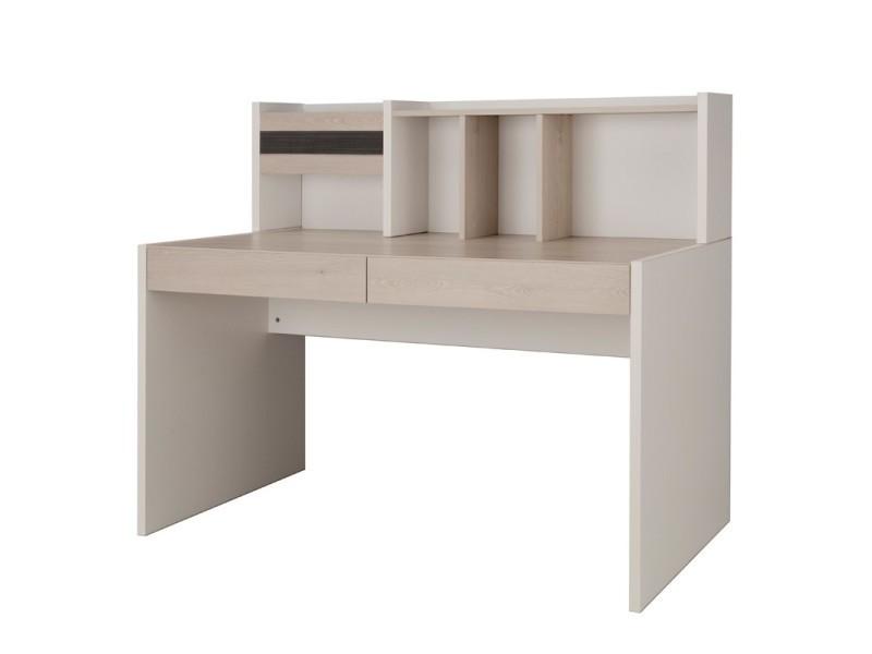 Bureau tiroirs surmeuble eden l l h neuf