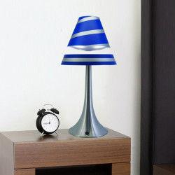 Lampe en lévitation althuria bleue grand format