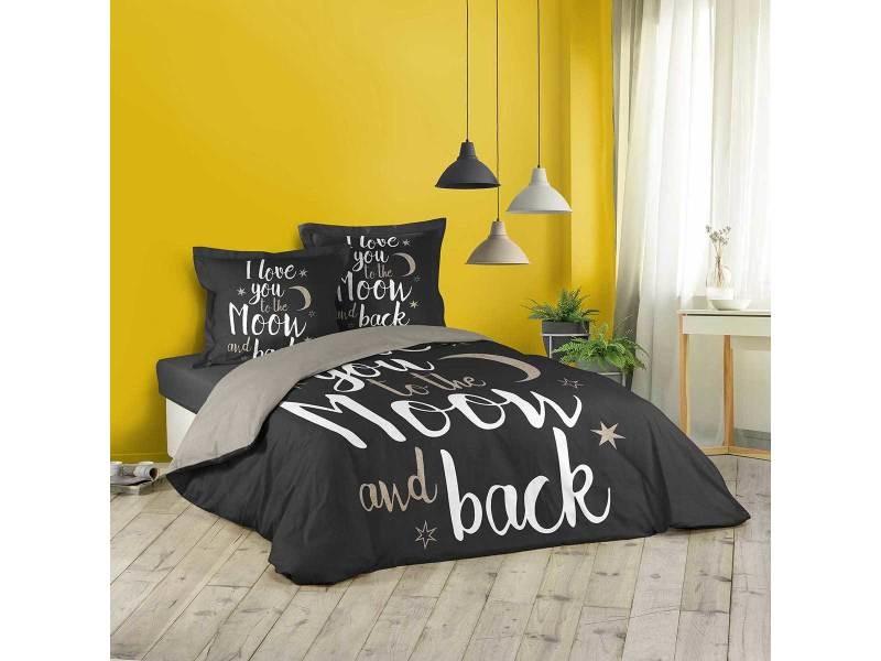 Parure De Lit Love Back 260x240 Cm Vente De Douceur D