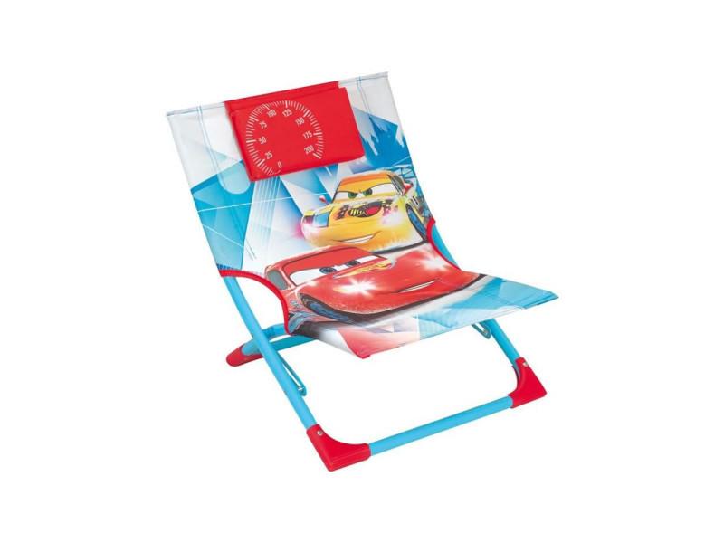 Disney cars chaise de plage - transat pour enfant CIJ3700057123413
