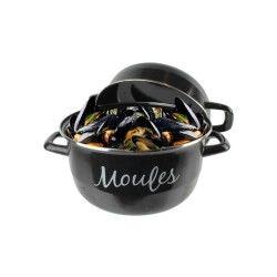 Marmite à moules ø24cm en aluminium tous feux