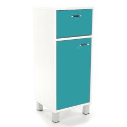 Des meubles de salle de bain beaux pratiques et con us for Meuble bas salle de bain gris