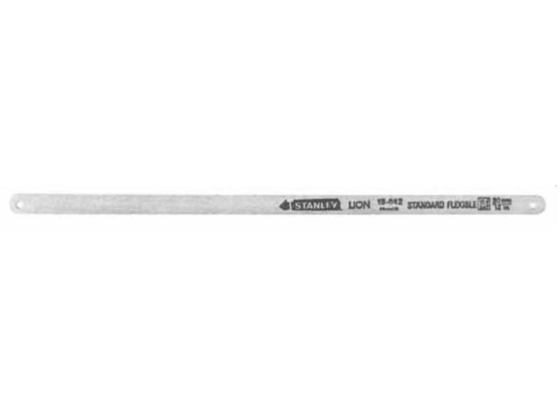 Stanley - lame de scie à métaux rubis 300mm 24 dents/inch - 1-15-906