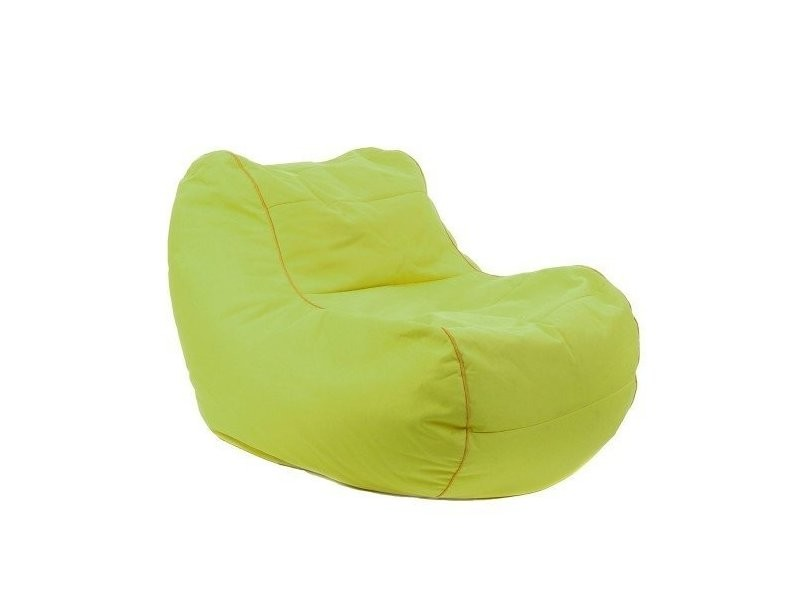Coussin géant chilly bean vert anis
