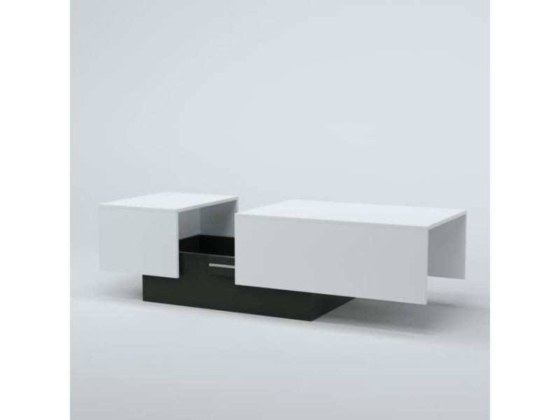 116 150 X Blanc Table Style L Soda Contemporain Basse 0w8kXnOP