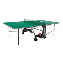 Tennis de table garlando e plateau vert e challenge c-272i