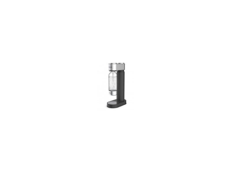 Philips add4902bk - machine a soda noire finitions chromées + cylindre 425g co² + 1 bouteille pet 1 litre