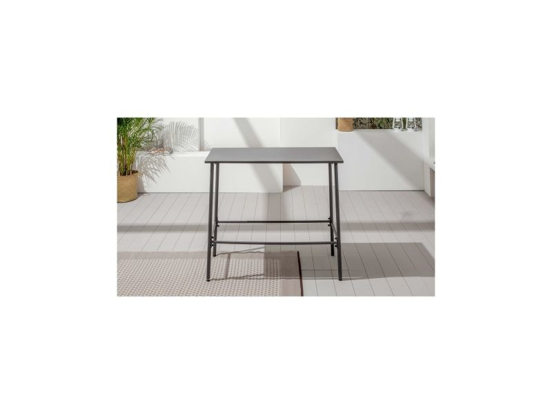 Table haute de jardin en métal, palavas - Vente de Table - Conforama