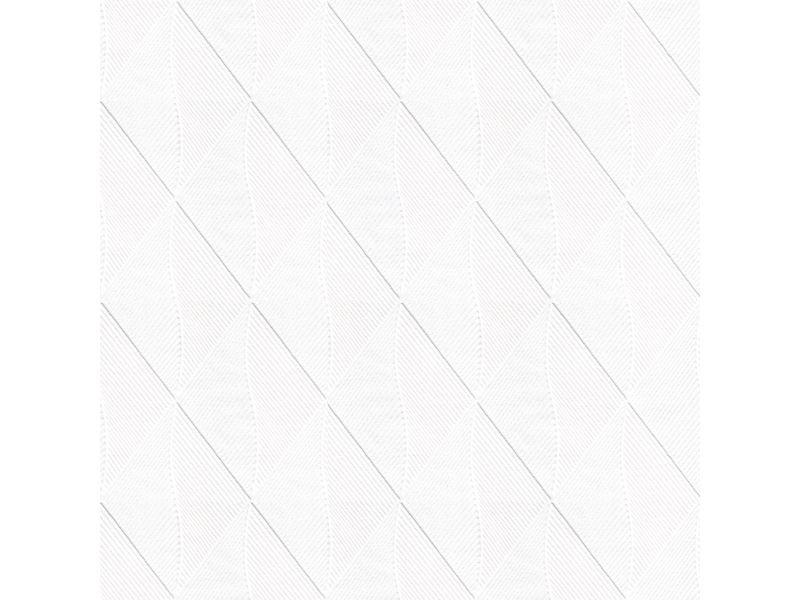 Papier peint intissé rayures en diagonale 1005 x 52cm ecru, bleu 5631445