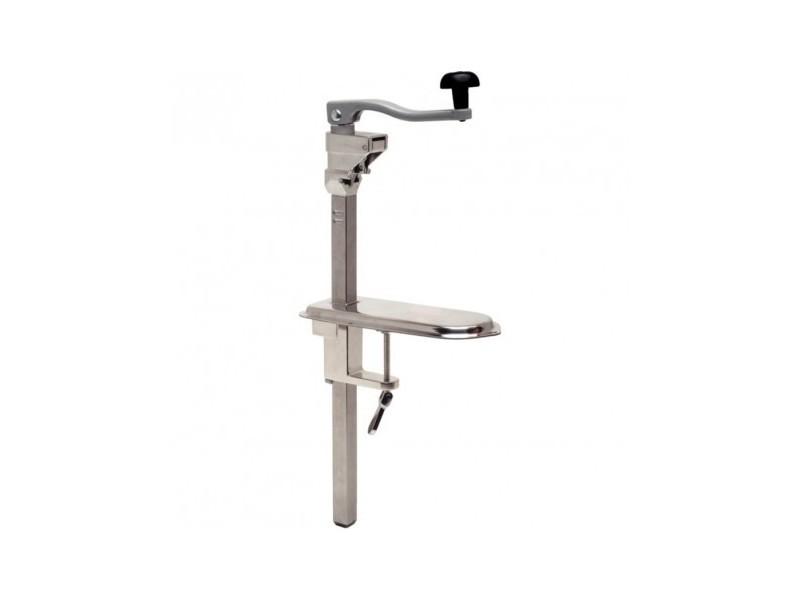 Ouvre-boîte professionnel de table inox 530 mm - vogue - inox