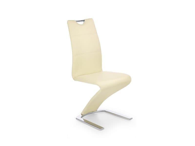 Lot de 2 chaise - couleur : vanille