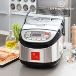 Robot culinaire chef master kitchen inox cook 1,8 l 900w noir acier