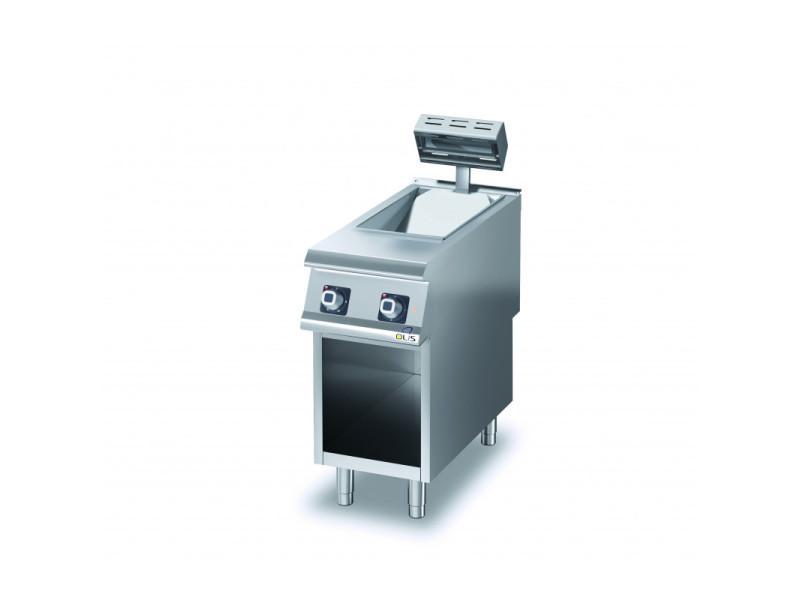 Chauffe frites electrique sur meuble diamante 90 - gamme 900 - olis -