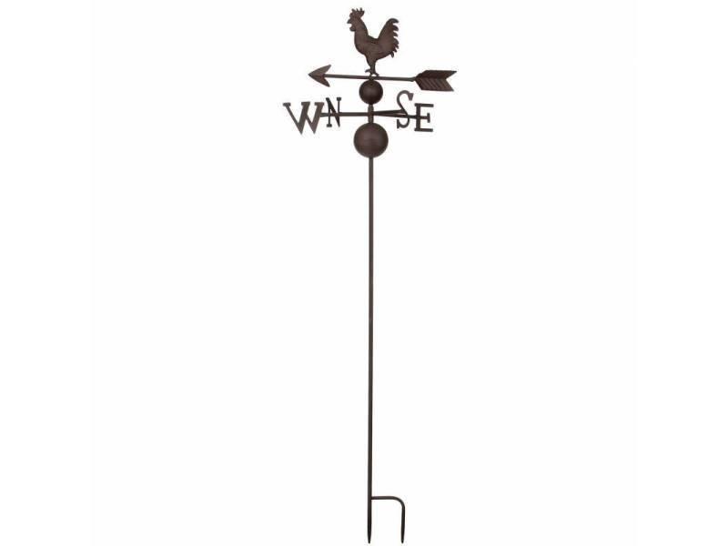 Girouette à piquer avec 4 points cardinaux décoration de jardin ...