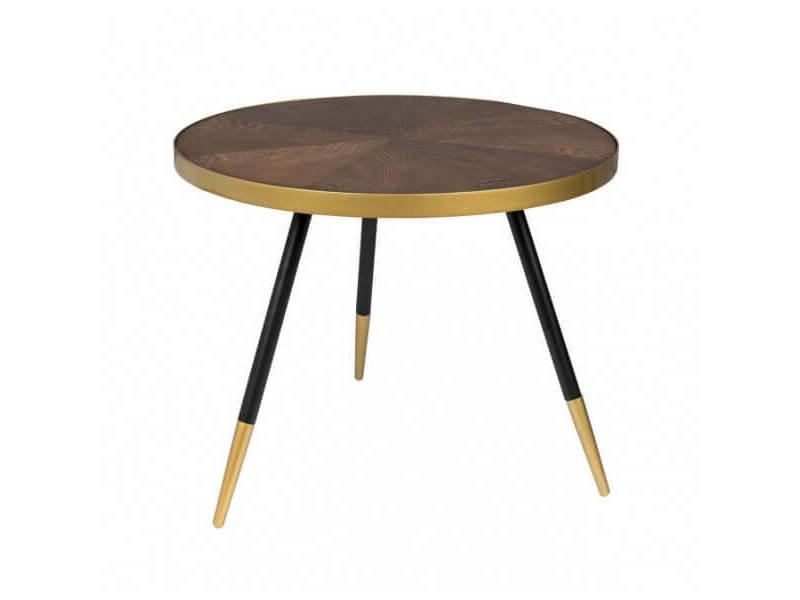 Denise l - table basse ronde art déco