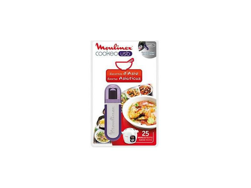 Moulinex clé usb cookeo 25 recettes asie réf. Xa600311
