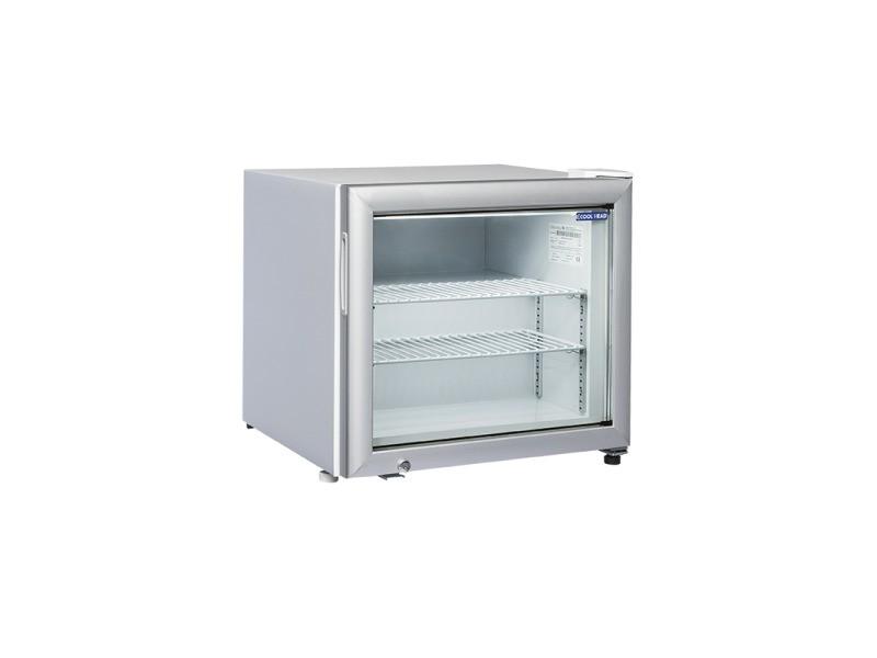 Mini armoire réfrigérée négative vitrée - 50 l - cool head - r290 1 porte vitrée