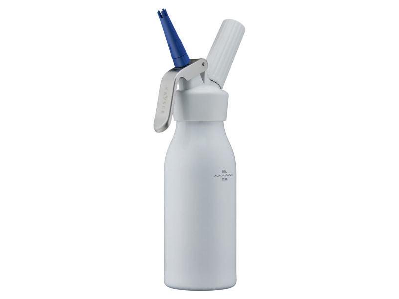 Siphon à chantilly 0.5 litre blanc