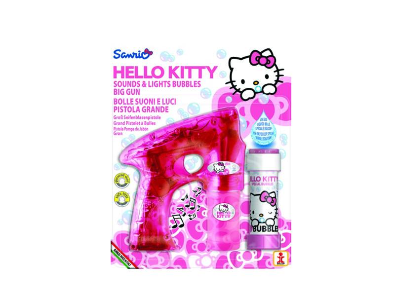 Pistolet bulles savon hello kitty modèle aléatoire